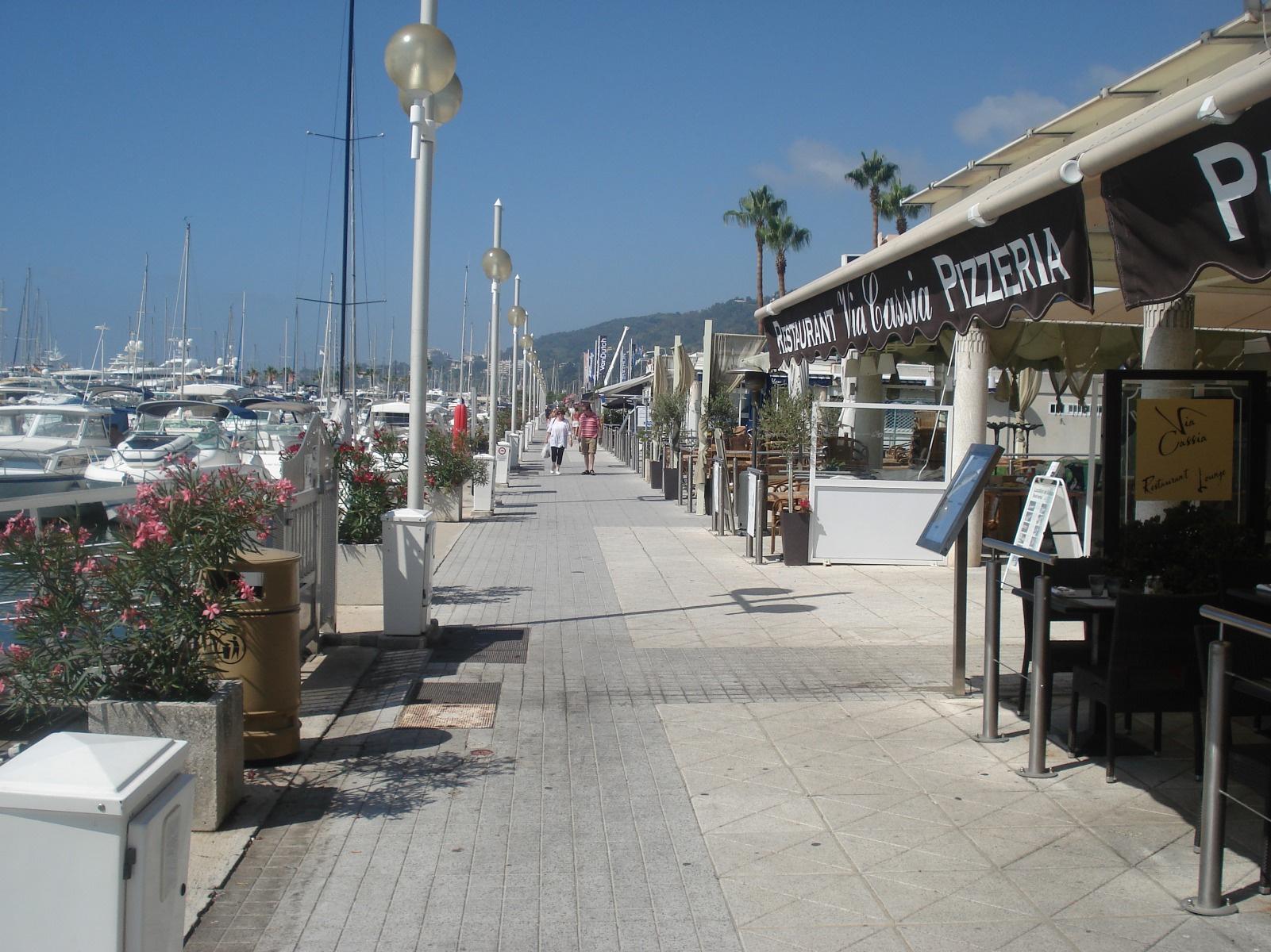 Restaurant port de golfe juan